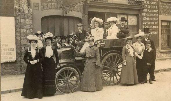 wedding-car-1903-vintage--426773