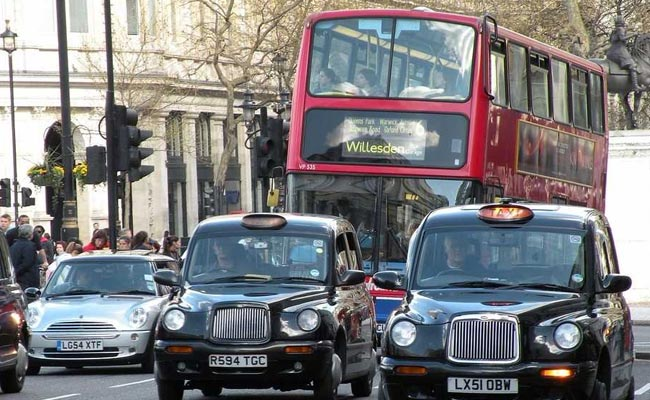 London Taxis and Bus